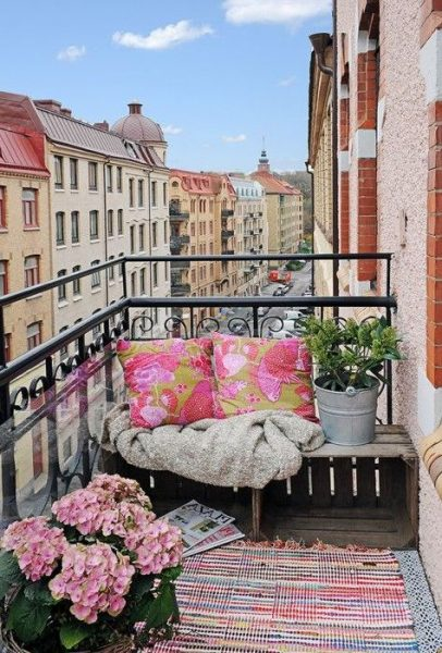 Cheap Furniture Small Balcony