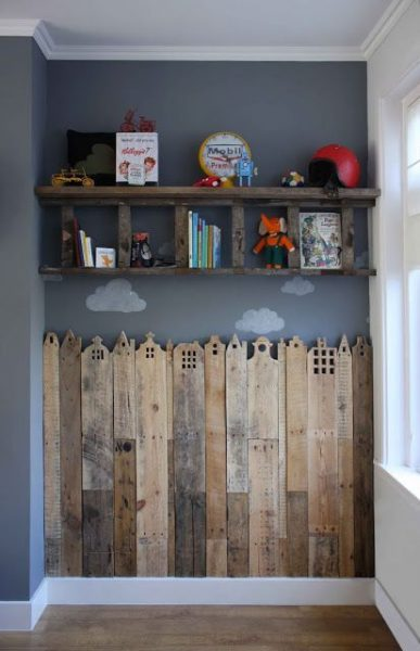 Children Toys Pallet Shelves