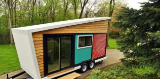 Colorful Tiny Box House