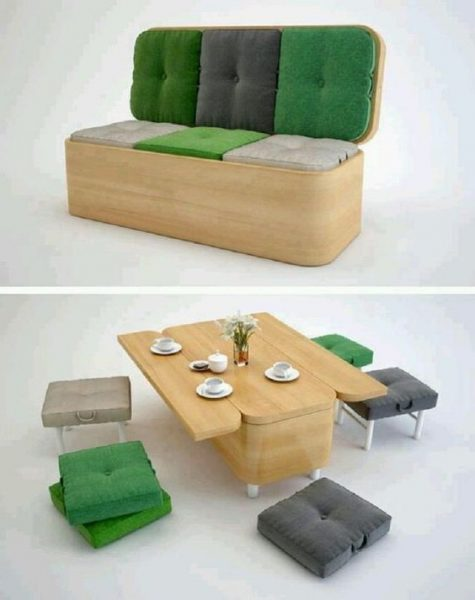 15 practical space saving table and chair ideas - small house decor Compact Dining Table Ideas