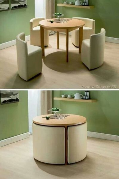 space saving table and chair United Dining Sets