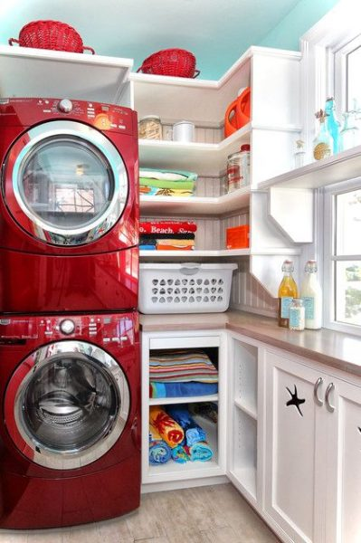 Contemporary Laundry Rooms