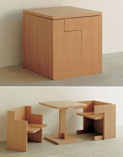 Cube Seat And Table