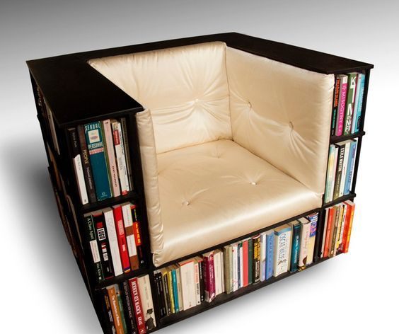 Gentleman Book Chair