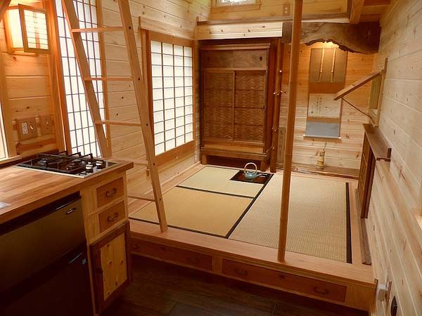 Japan Tiny House Interior