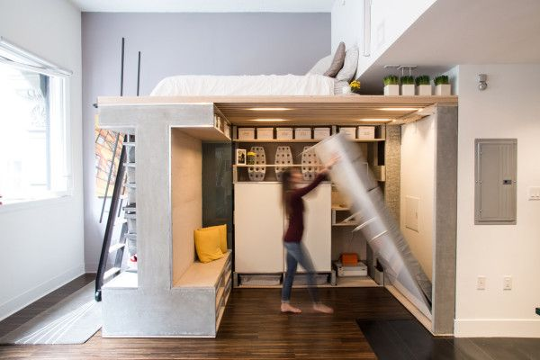 Loft With Murphy Bed