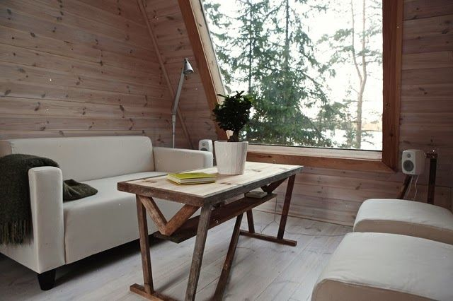 Micro Cabin Living Room