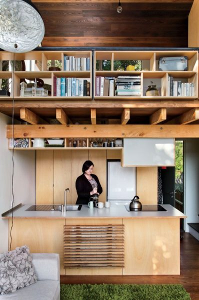 Mini Houses Inspired By Japan Style Kitchen