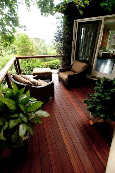 Natural Balcony Design