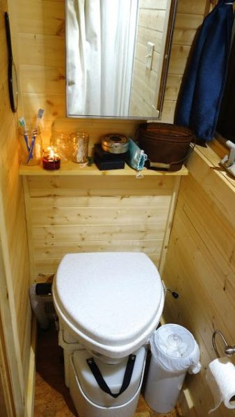 Off-grid Tiny House On Wheel Toilets