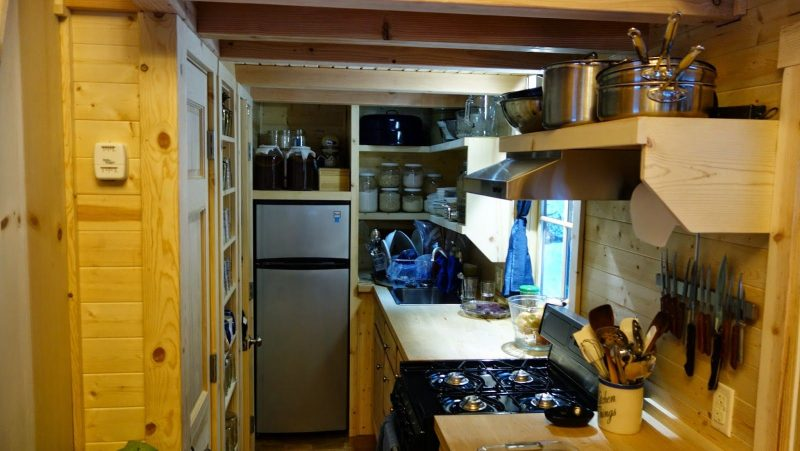 Off-grid Tiny House On Wheels Kitchen Design