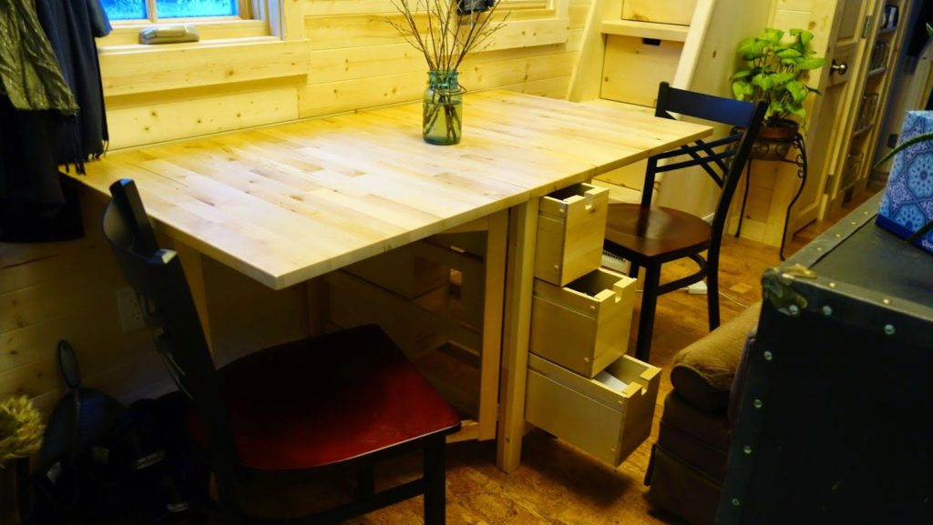 Off-grid Tiny House On Wheels Opened 2
