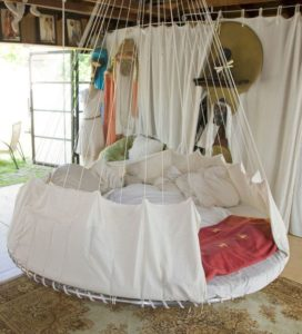 Recycle trampoline Indoor Hammock Bed
