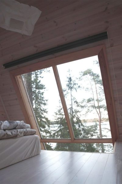 Small Cabin Bedroom View