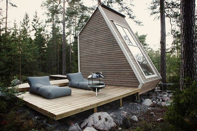 Small Cabins House Exterior