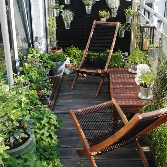 Small Garden On Balcony