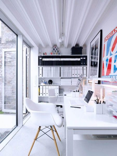 Small Modern House Office