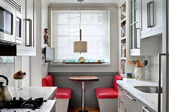 Tiny Dining Table Nook