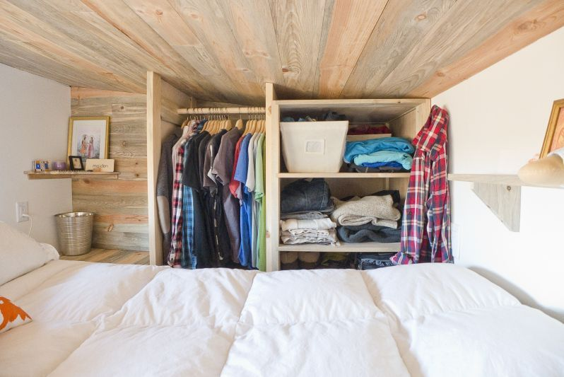 Tiny House Project Closets
