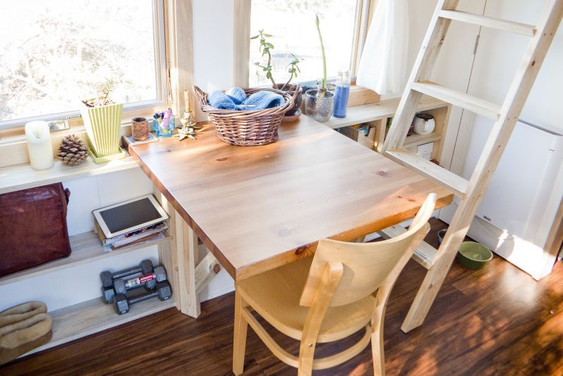 Tiny House Project Dining Area