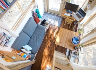Tiny House Project Interior View