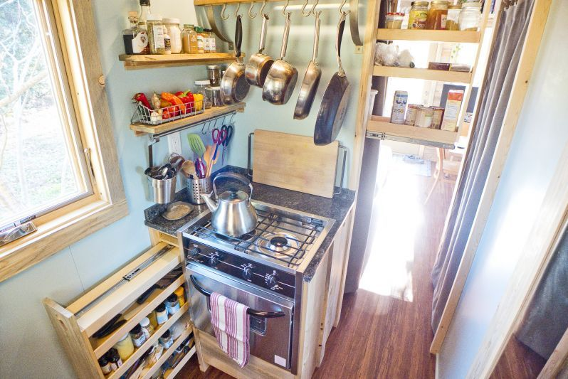 Tiny House Project Kitchen Design