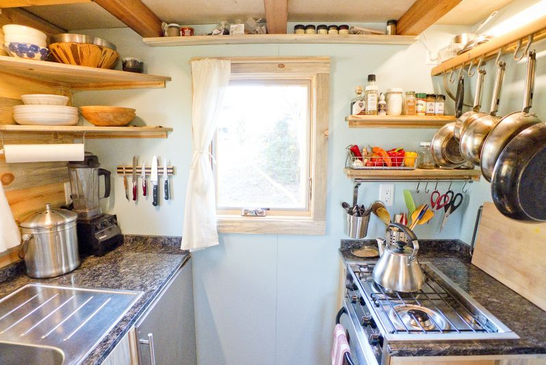 Tiny House Project Kitchen Ideas