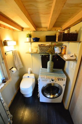 Tiny House Trailer Bathrooms