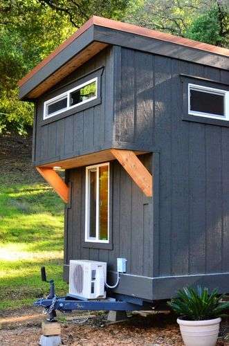 Tiny House Trailer Cantilever Loft