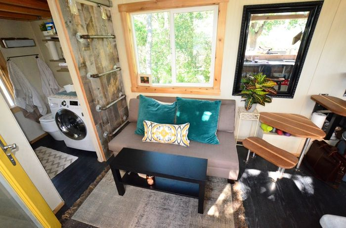 Tiny House Trailer Couch