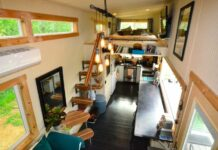 Tiny House Trailer Living Room