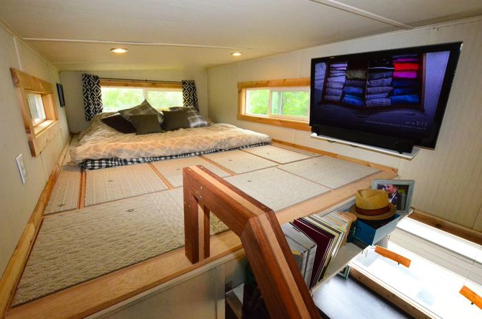 Tiny House Trailer Master Loft