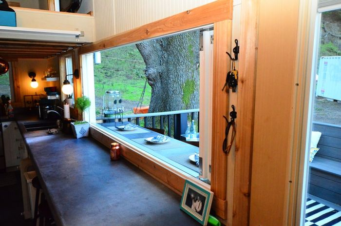Tiny House Trailer Mini Bars