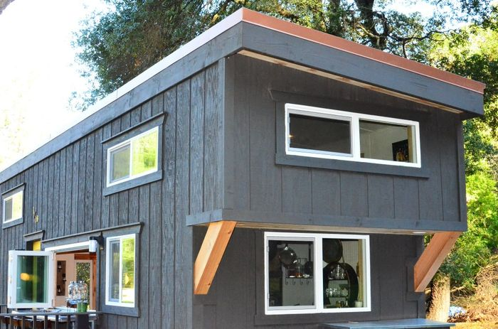 Tiny House Trailer Rear Cantilever