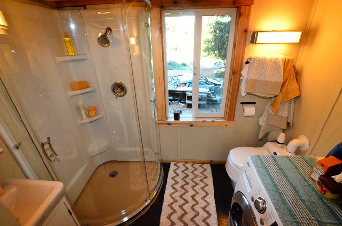Tiny House Trailer Tiny Bathroom