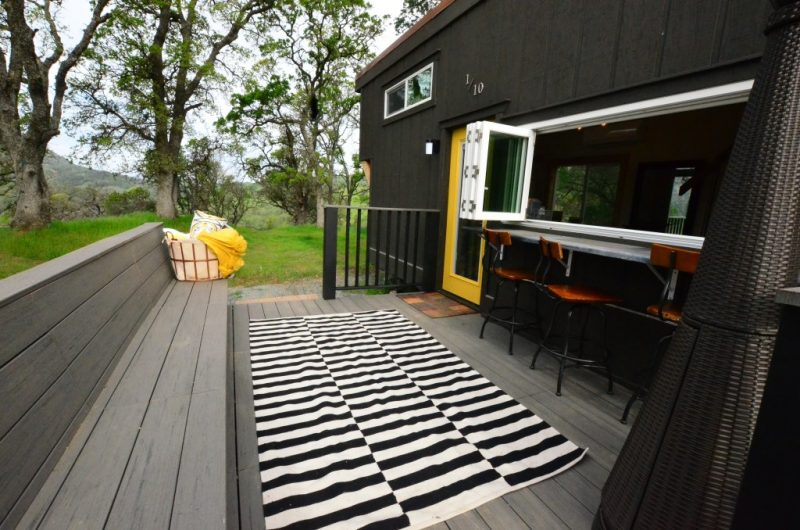 Tiny House Trailer deck