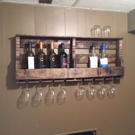 21 Amazing Shelf Rack Ideas For Your Home: Ingenious 21 Wooden Pallet Shelves Ideas