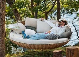 outdoor hammock bed