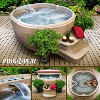plug and play spa