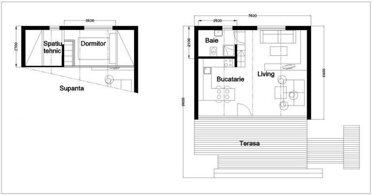 Soleta Micro Homes Floorplan