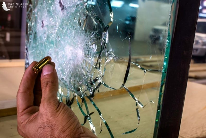 level one BULLET-RESISTANT GLASS