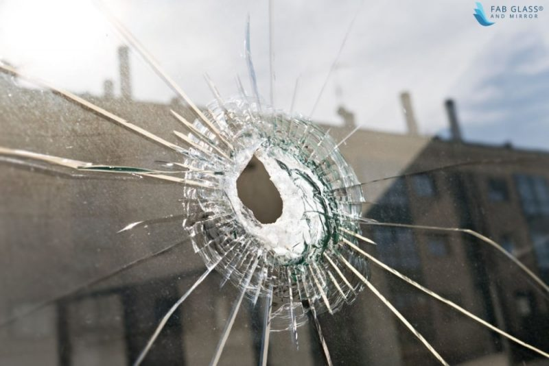 level three BULLET-RESISTANT GLASS