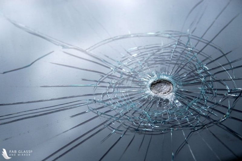 level two BULLET-RESISTANT GLASS