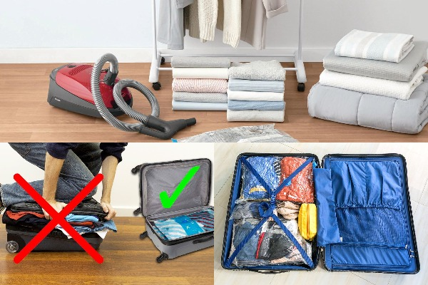 How To Use Space Saver Vacuum Packed Bags
