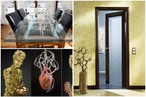 Glass Home Decor - 5 Ways To Use Glass in Your Interior Design