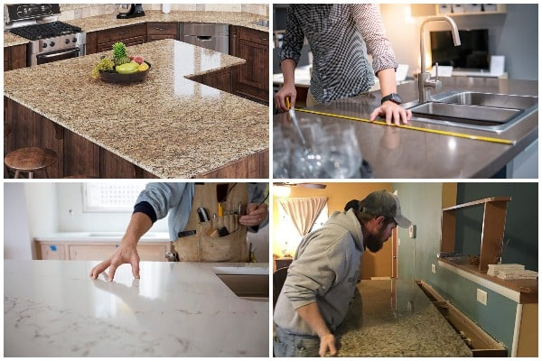 Installing Countertops - Tips for Choosing the Right Style