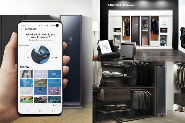 Samsung AirDresser Save time and money