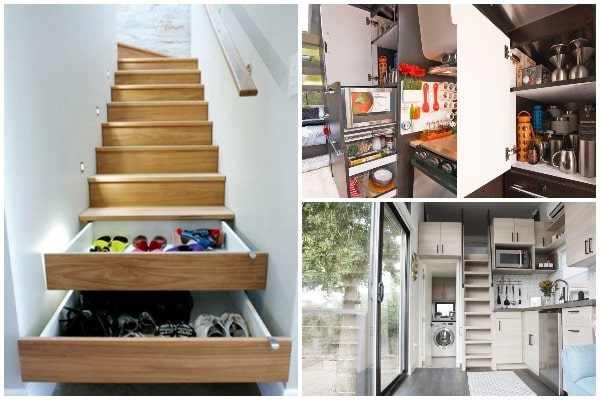 Space Saving Ideas for Small Home Living
