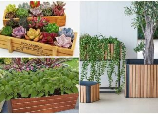 Why is using rectangular planter boxes the best option for any design